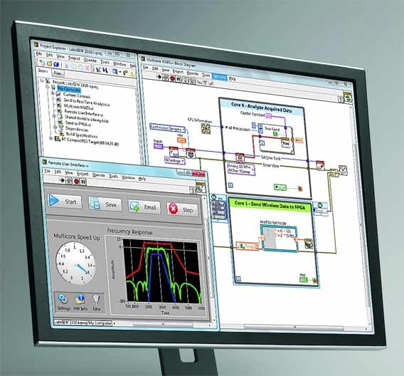 LabVIEW 2010 wurde deutlich schneller, es verbessert die Produktivität beim Entwickeln und verfügt über neue, auf Anwendervorschlägen basierende Funktionen.