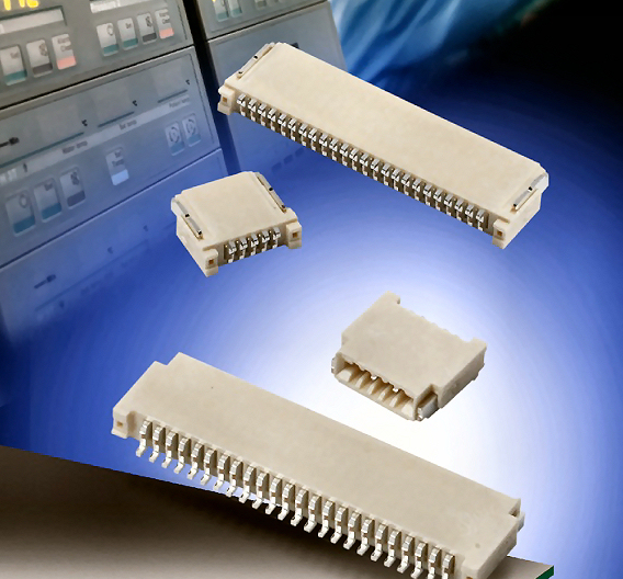 LIF-Steckverbinderserie mit 0,5mm Kontaktabstand