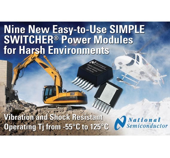 So einfach einzusetzen wie ein LDO, aber so effizient wie ein DC/DC-Wandler sind die »Simple Switcher« von National Semiconductor