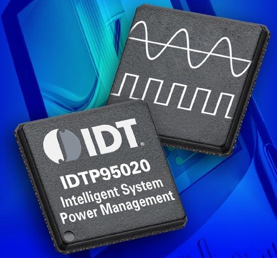Mithilfe der CPU auf dem System-Powermanagment-IC »P95020« von IDT lassen sich auch die allgemeinen Organisations- und I/O-Verarbeitungsaufgaben vom Applikationsprozessor auslagern.