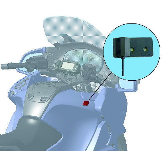 Multimedia-Kommunikation auf dem Motorrad