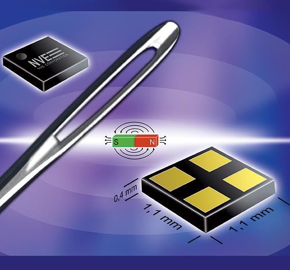 Die kleinen und stromsparenden Magnetschalter der NanoPower-Serien »ADL0xx-14E« und »AHL0xx-14« der Firma NVE werden von HY-LINE Sensor Tec vertrieben