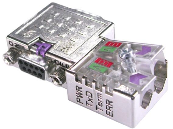 Profibus-Stecker für den Einsatz in komplexen Testaufbauten