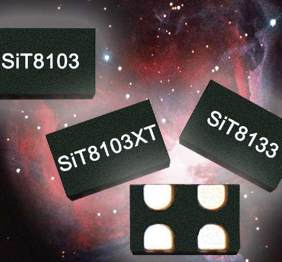 Die MEMS-Oszillatoren von SiTime Sie verbrauchen im aktiven Zustand und im Standby-Modus normalerweise maximal 3,5 mA.