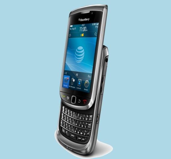 Das Smartphone BlackBerry Torch 9800 ist das erste RIM-Modell, das mit dem Betriebssystem BlackBerry 6 läuft.