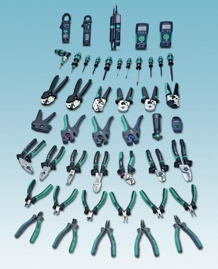 Das Werkzeugprogramm Toolfox bietet professionelle Werkzeuge für alle Fälle: Schneiden, Abisolieren, Verpressen, Schrauben, Messen, Prüfen