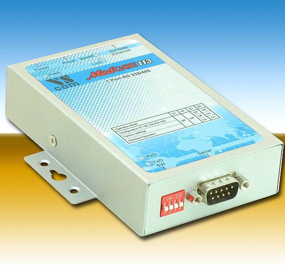 Die Geräte der »Modgate«-Serie verlängern Modbus-Leitungen über Ethernet und können teilweise auch als Router für RS232/485-Verbindungen dienen.