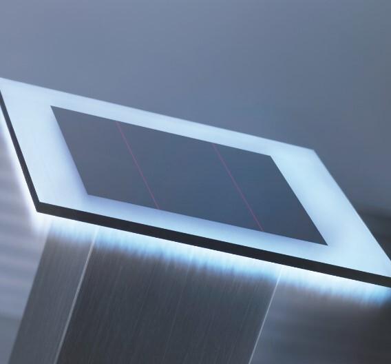 Höchste Wirkungsgrade von Solarzellen lassen sich nur mit sehr genauer und feiner Strukturierung der Oberflächen erzielen.