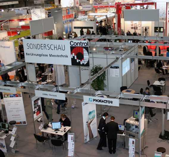Die Sonderschau »Berührungslose Messtechnik« wird auf der »Control 2011« auf ca. 200 qm in Halle 1 zu finden sein.