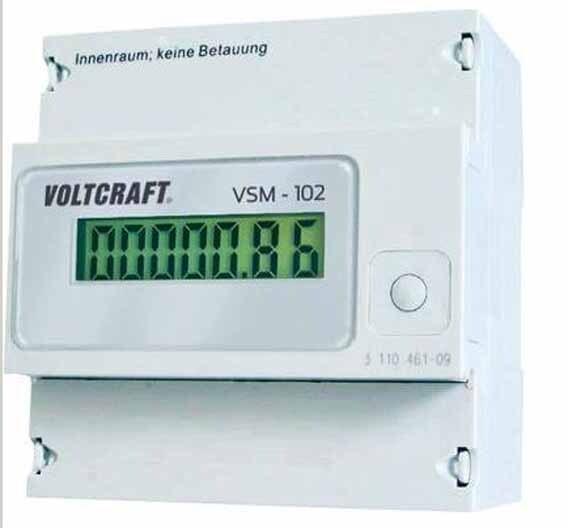 Das Smart-Metering-System VSM-100 kann in jeder Elektro-Installation nachgerüstet werden und liefert am PC-Bildschirm im Sekundentakt genaue Verbrauchsdaten.