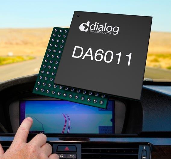 Der DA6011 versorgt die Atom-Plattform E6xx mit Strom, Takt- und Powermanagement-Signalen