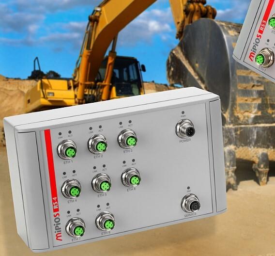 Der Schutzart IP67 entsprechen die beiden neuen IP67-Ethernet-Switches aus der Gerätefamilie »Mipios« von MEN Mikro Elektronik.