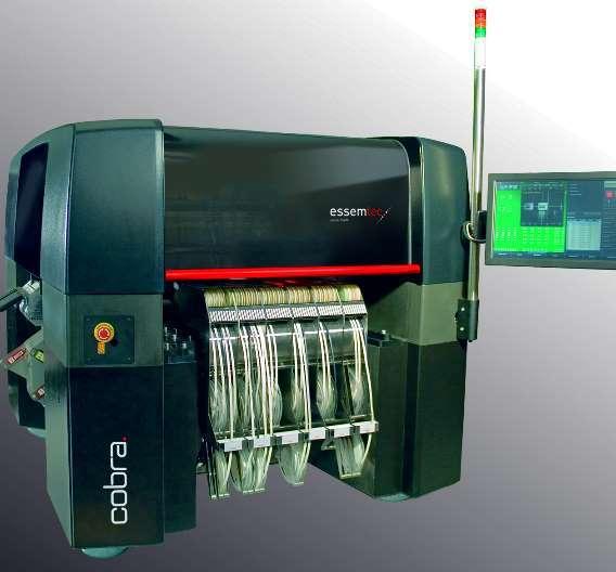 Die neue Bestückungsmaschine Cobra treibt den Sommerumsatz der Schweizer Essemtec an.
