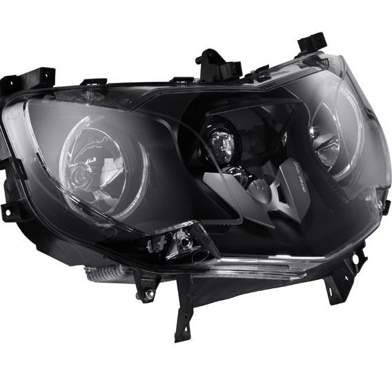 Scheinwerfermodul der neuen BMW K1600