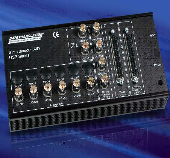 USB-Messmodul mit sechs 800-kHz-Analogeingängen