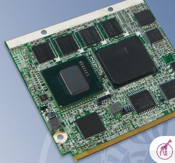 Das Qseven-Modul »Q7-Atom-E6« von embedded-logic nutzt Intels Atom-E6-Serie.
