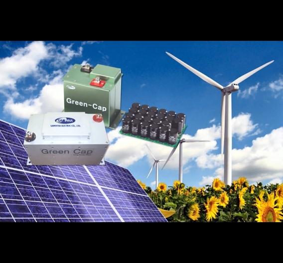 """""""Greencap"""" Doppelschicht-Superkondensatoren des Herstellers Samwha Electric"""