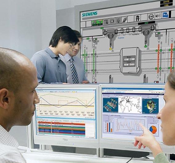 SCADA-System von Siemens