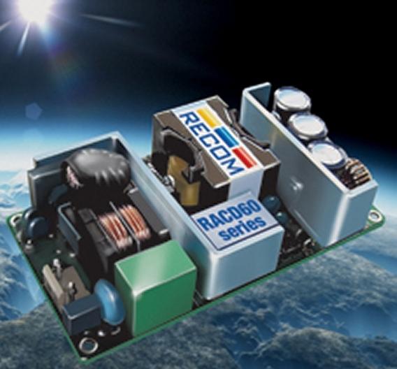 Die neuen Stromversorgungsmodule der Baureihe RADC60 wurden für die Ansteuerung von LEDs in Beleuchtungen konzipiert und können direkt an das Netz angeschlossen werden.