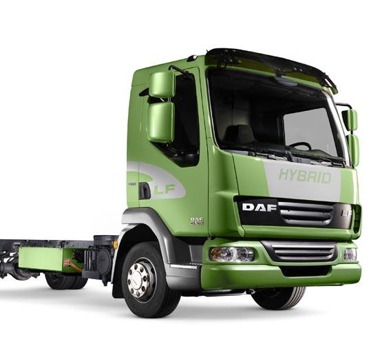 DAF nutzt den elektrischen Hybridantrieb von Eaton in seinem neusten DAF LF Hybrid.