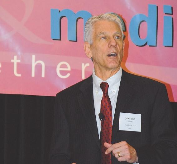 John East, Actel: »Aus meiner Sicht gibt es keine Firma, die besser geeignet wäre, die Produktstrategie von Actel erfolgreich fort zu führen.«