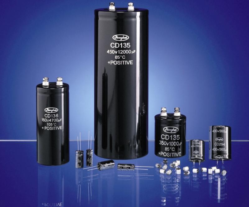 Snap-in- Elektrolytkondensatoren mit einer besonders langen Lebensdauer von bis zu 14 000 Stunden