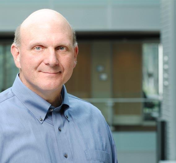 Steve Ballmer, CEO von Microsoft