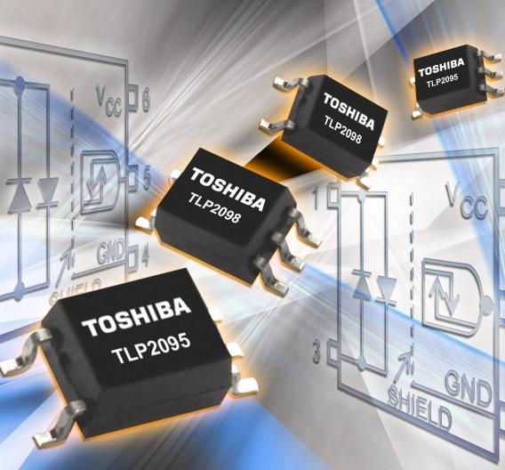Zwei neue, kompakte Optokoppler bieten eine Isolationsspannung von 3750 kV und erreichen eine Datenübertragungsrate von 5 Mbit/s.