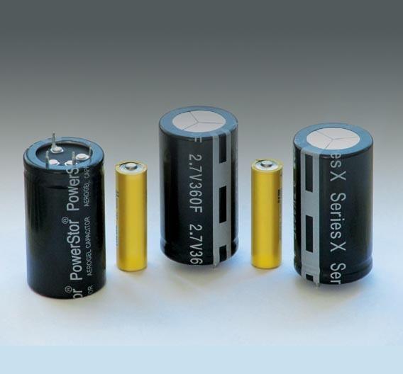 Bei 60 mm Höhe und 35 mm Durchmesser sind die »Powerstor X«-Kondensatoren gerade einmal 67 g schwer.