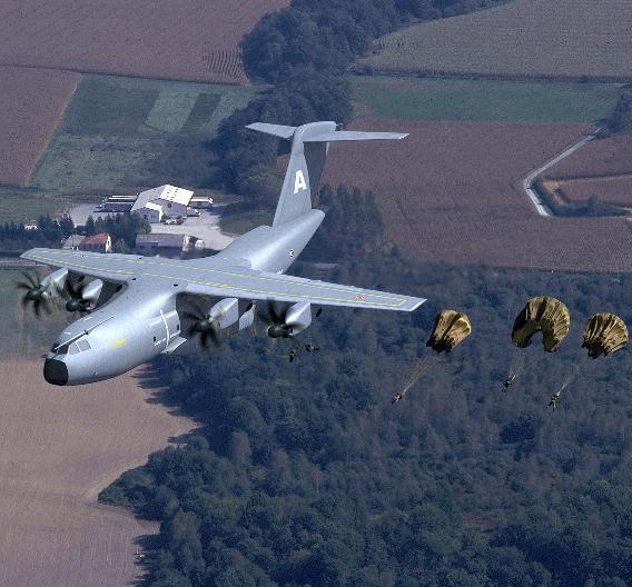 Bild 3. Sicheres Be- und Entladen – auch in der Luft. PikeOS wurde für die Zertifizierung des Frachtladesystems des A400M genutzt.