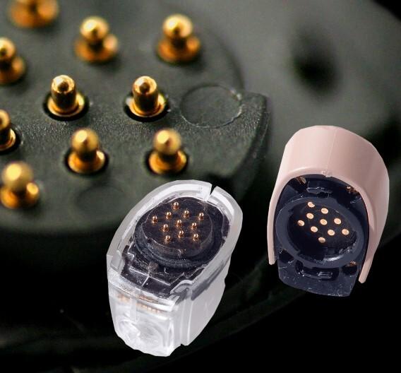 Miniaturfederkontaktstift, erhältlich bei uwe electronic