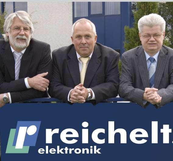 Das neue Führungsteam bei Reichelt Elektronik (von links): die Geschäftsführer Friedel Grunwald, Ulf Timmermann und Hermann Herzog.
