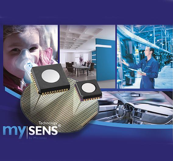 Der »GAS 85xyB« basiert auf dem CCFET-Sensor-Konzept (Capacitive-Coupled Field-Effect Transistor) »mySENS« von Micronas.