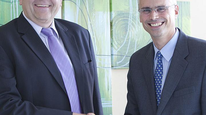 Robert Willett und Hans Wimmer