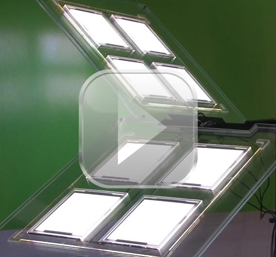 video die oled in der beleuchtung. Black Bedroom Furniture Sets. Home Design Ideas