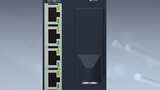 Mit einem LWL-Anschluss ist das Modul FCS214 von Bachmann electronic ausgestattet.