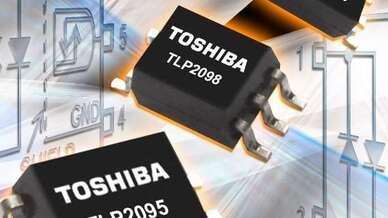 Die Fotokoppler verfügen über einen AC-Eingang für Datenübertragungsraten bis zu 5 Mbit/s.