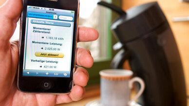 Verbrauchsdatenzählung, iPhone, Kaffeemaschine