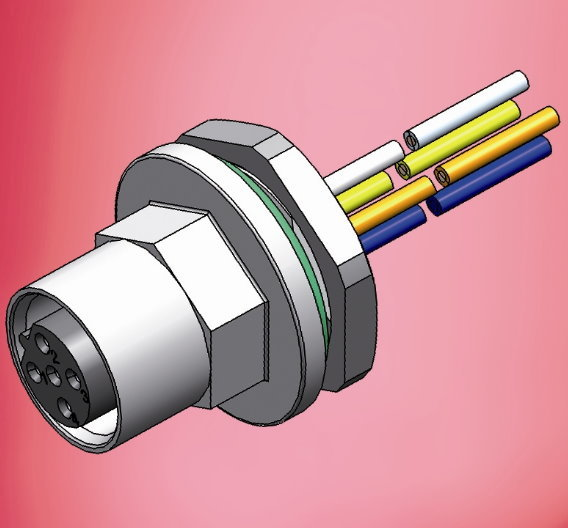 M12-Gerätesteckverbinder