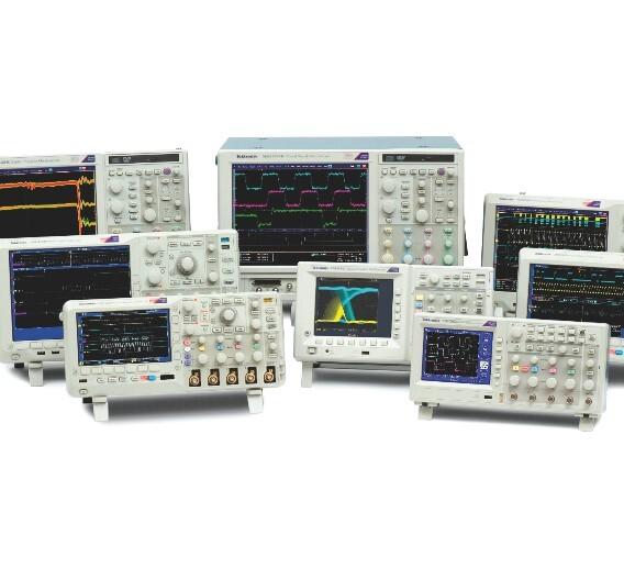 Tektronix stellt gemeinsam mit seinen Vertriebspartnern ein breites Produktspektrum aus der Messtechnik aus.