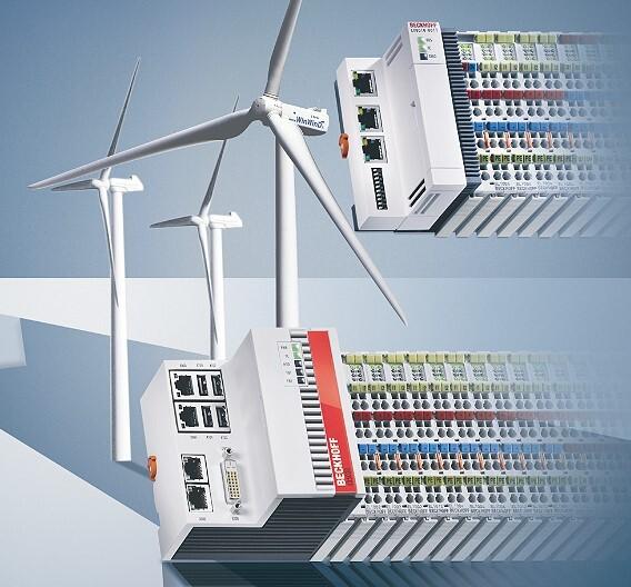 Beckhoff liefert durchgängige Steuerungslösungen PC- und EtherCAT-Basis für alle Anwendungen in Windkraftanlagen.