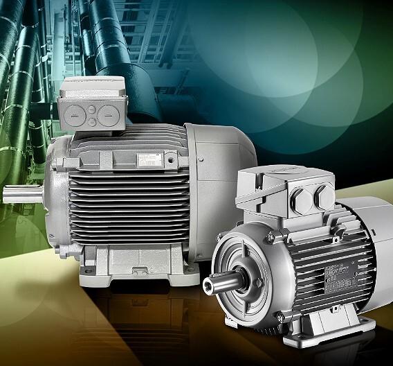 Die Drehstrom-Asynchronmotoren von Siemens entsprechen schon jetzt den Effizienzvorgaben der EU-Verordnung 640/2009.