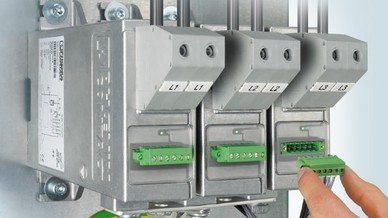Blitzschutzableiter »Powertrab PWT« von Phoenix Contact