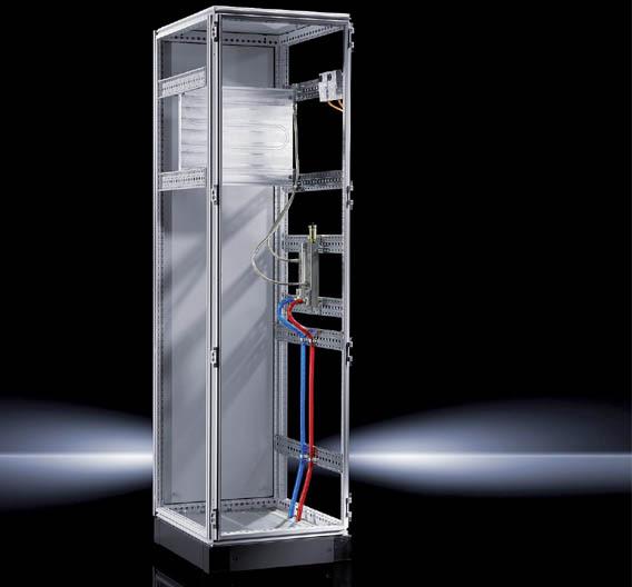 Bild 1. Nachdem bei Cold Plates noch Optimierungspotentiale in Sachen Wärmeabführung, Montage und Handling existierten, hat Rittal seine Cold-Plate-Technik weiterentwickelt.