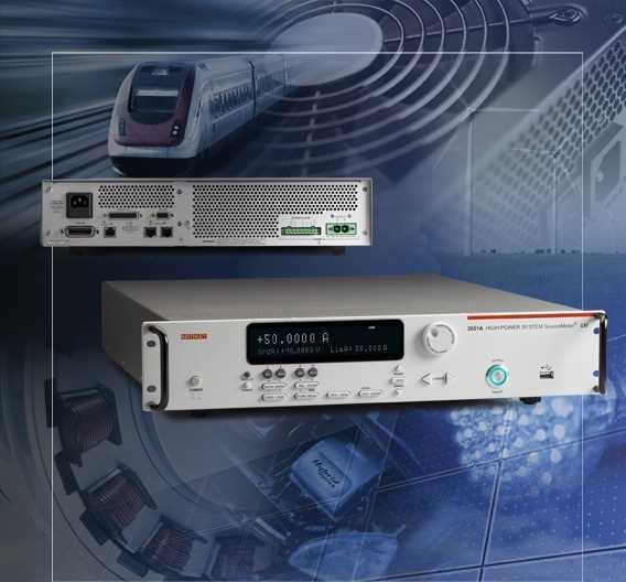 Das SourceMeter 2651A von Keithley punktet mit einem weiten Strombereich.