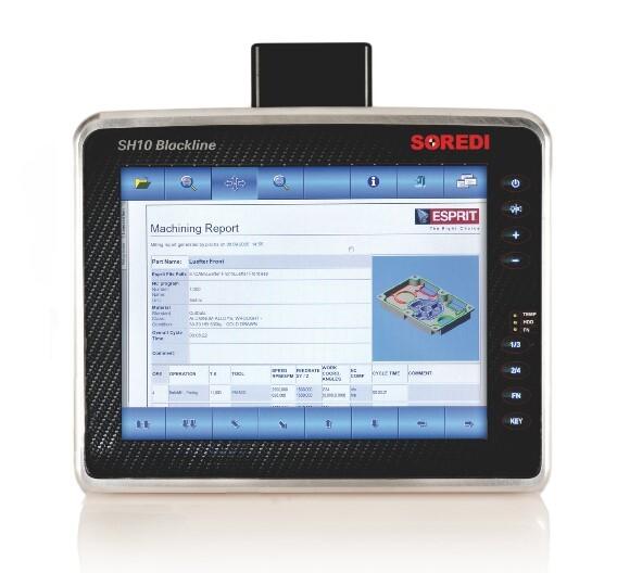 Der »SH10 Blackline«-Industriecomputer ist mit dem 4-mm-Ceran-Glas nicht nur gut geschützt, sondern auch heller als die anderen Geräte der SH-Reihe.