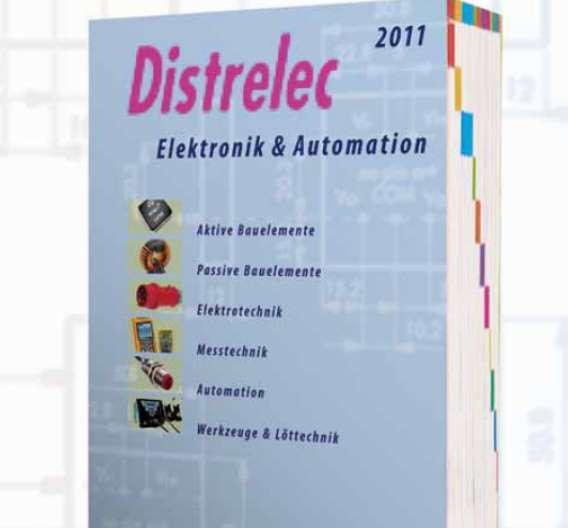 Ab sofort erhältlich: der neue Distrelec Schuricht Katalog mit erweitertem Produktsortiment