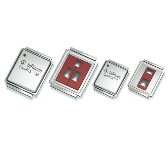 Ab sofort stehen die OptiMOS-MOSFETs für Spannungsklassen von 60 bis 150 V auch in CanPAK-Produkten zur Verfügung, die eine doppelseitige Kühlung erlauben.