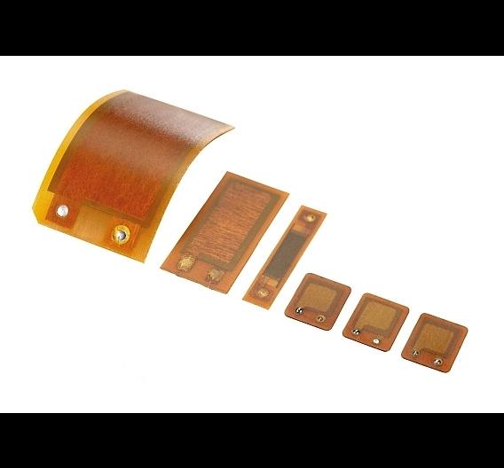 DuraAct-Flächenwandler bestehen aus Piezokeramikplatten- oder Folien