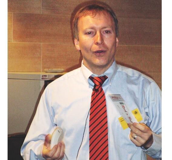 Klaus Ludwig, PolyIC: »Aufgrund des günstigen Preises im Vergleich zu herkömmlicher Elektronik kann man die Polymerelektronik auch sehr gut für Einwegprodukte nutzen.«